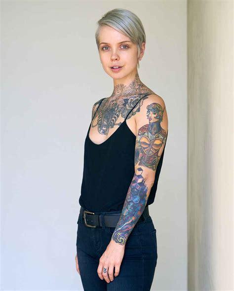 tattoo model model x mills united states