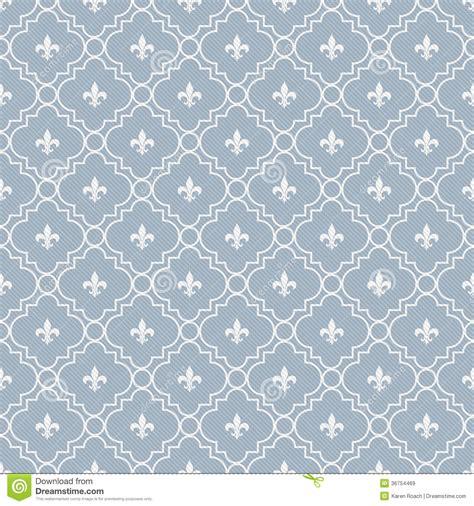 white pattern cloth white and pale blue fleur de lis pattern textured fabric