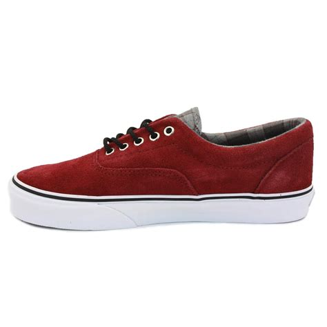 Vans Era For 02 vans era suede qfk71w womens laced trainers maroon