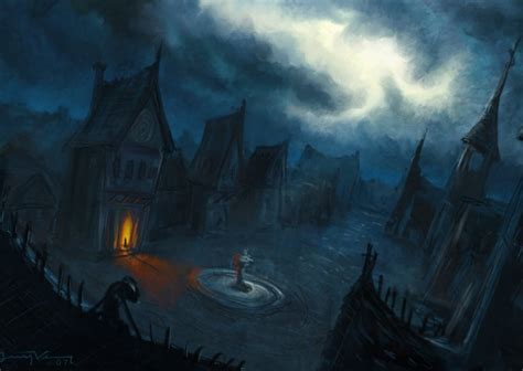 black station ambient creepy horror approaching the of barovia audio atmosphere