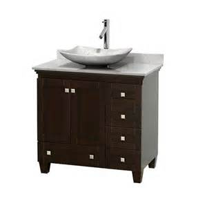 White Vanity No Sink Wyndham Collection Wcv800036sescmgs6mxx Acclaim 36 Inch