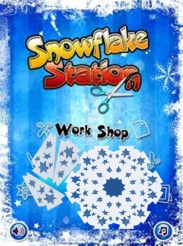 free app: learn symmetry from snowflakes