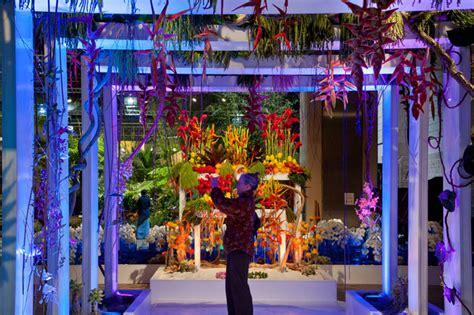 the beautiful expo in phila reminder the philadelphia flower show hosts wedding