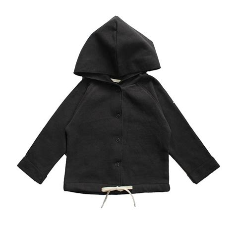 Baby Hooded Cardigan gray label baby cardigan with hoody