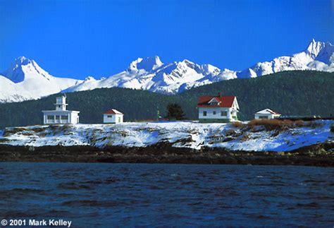 pt. retreat lighthouse, lynn canal, alaska – image