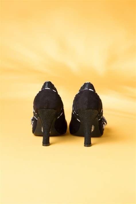 Maisie Ii Black topvintage exclusive 50s maisie pumps in black