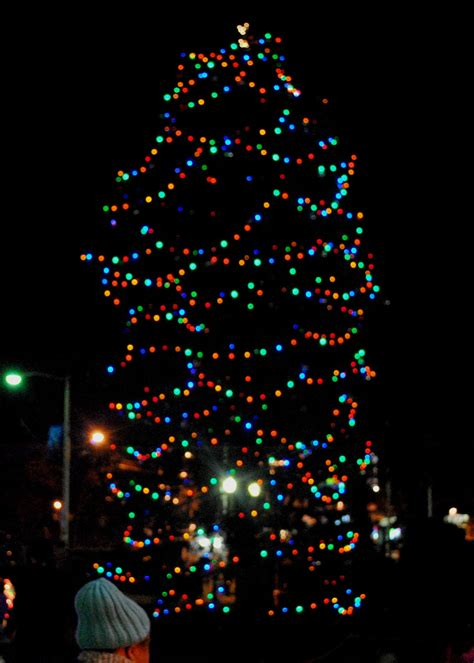 west orange old fashioned christmas tree lighting and