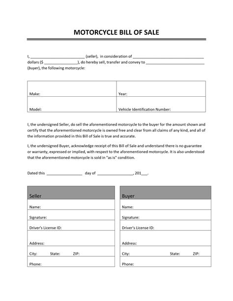 Bill of Sale Archives   Freewordtemplates.net