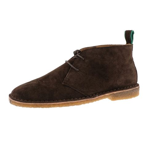 ralph casterton chukka boots suede in brown for