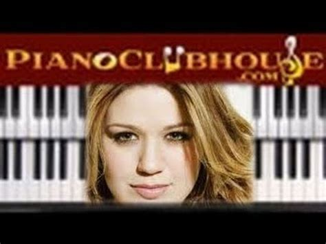 tutorial piano because of you how to play quot because of you quot kelly clarkson piano