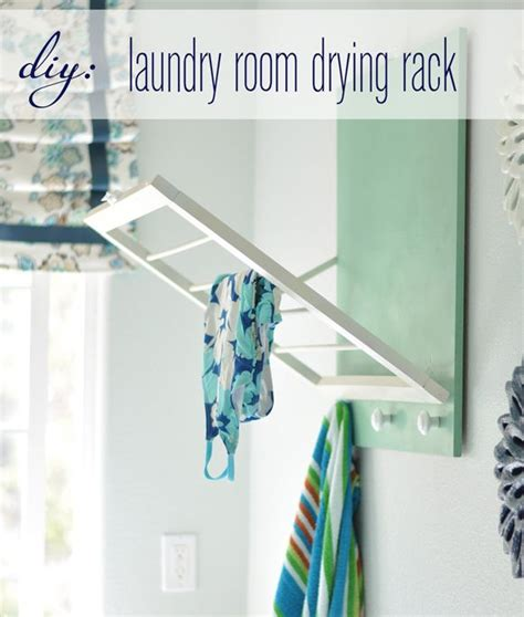 Fold Out Drying Rack by How To Fold Out Laundry Room Drying Rack