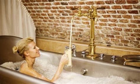 bathtub beer spas with a difference weird baths around the world