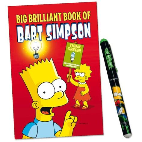 big brilliant book of bart big brilliant book of bart scholastic club