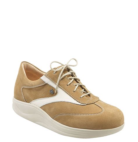 walking comfort shoes finn comfort finnamic by recife walking shoe in beige