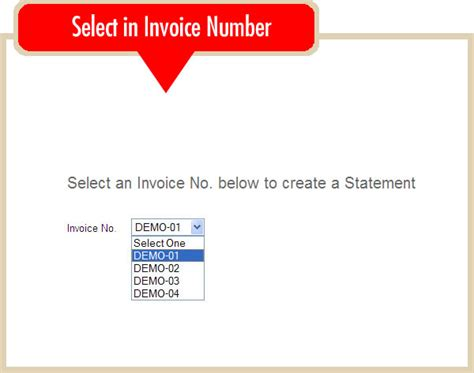 select one question below and submit them in an es creating an online statement online invoicing system