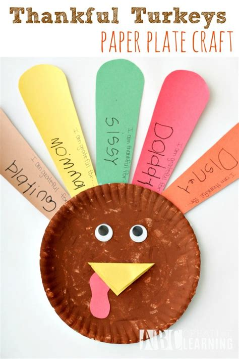 Paper Turkeys Kid Crafts - free virina coloring pages and activity sheets simply