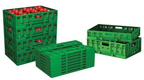 cassetta di plastica cassette in plastica pieghevoli polymer logistics foodlytech