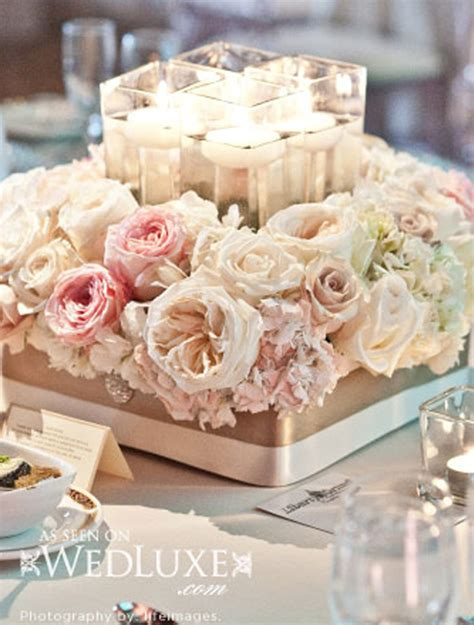 wedding centerpieces with flowers 2014 blush pink weddings archives weddings romantique