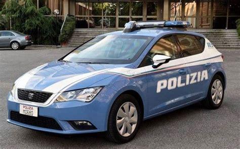 squadra volante nuove auto consegnate in questura a servizio della squadra