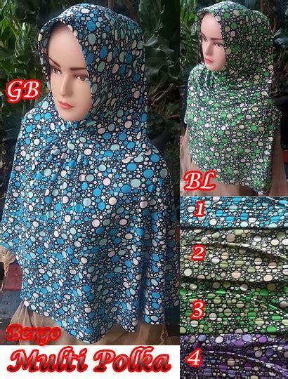 Jilbab Anak Combi Polka Topi bergo multi polka sentral grosir jilbab kerudung i supplier jilbab i retail grosir jilbab