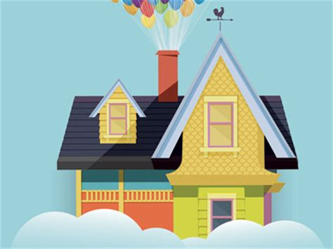printable house from up up house by danielle torres dribbble