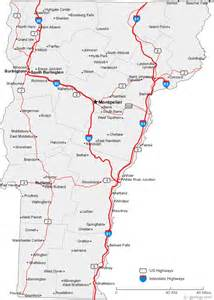 map of vermont cities vermont road map