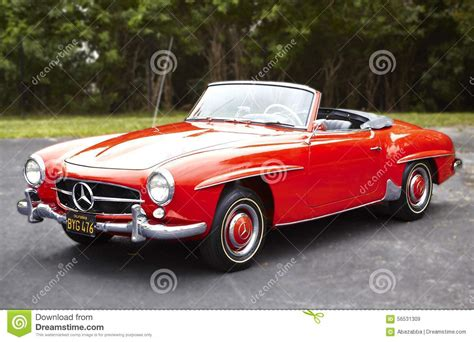 convertible cars mercedes mercedes convertible car editorial stock image