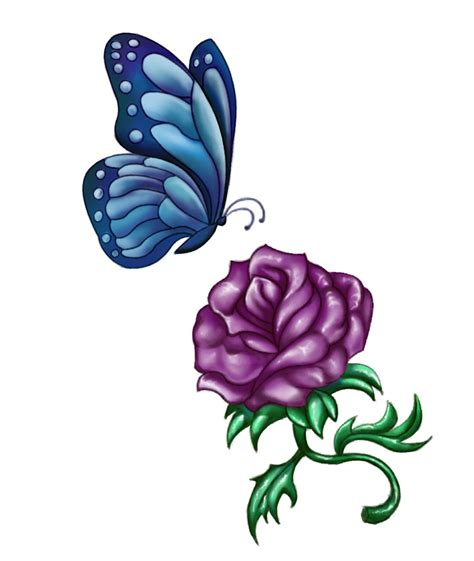 rose tattoo download purple designs cool tattoos bonbaden
