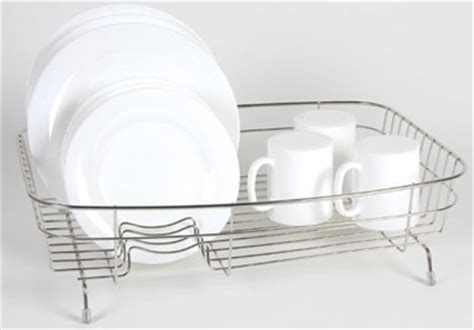 Stainless Steel Dish Rack Large by Stainless Steel Large Dish Drainer