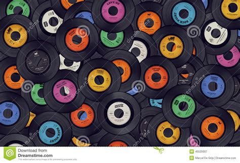 Background Records Vinyl Records Background Stock Image Image Of Gramophone Analogue 45529307
