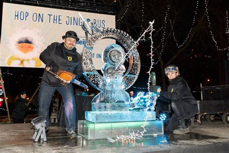 milwaukee lights festival 2017 winter festivals sculpture and performance by