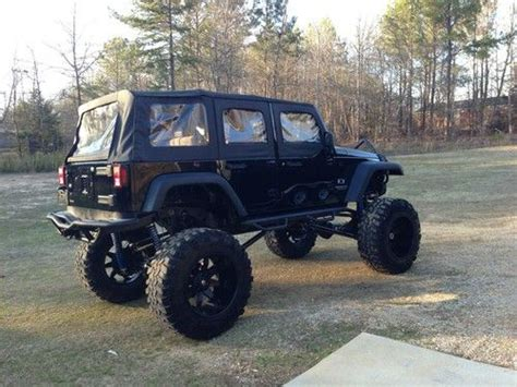 Jeep Unlimited Lifted Buy Used 2008 Jeep Wrangler Unlimited Lifted In Iuka