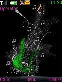 nokia themes guitar download animated guitar theme nokia theme mobile toones
