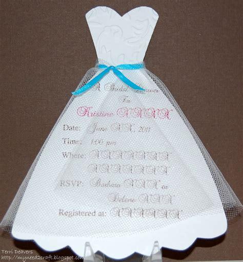 Bridal Shower Invitation Ideas by Myneed2craft Bridal Shower Invitations