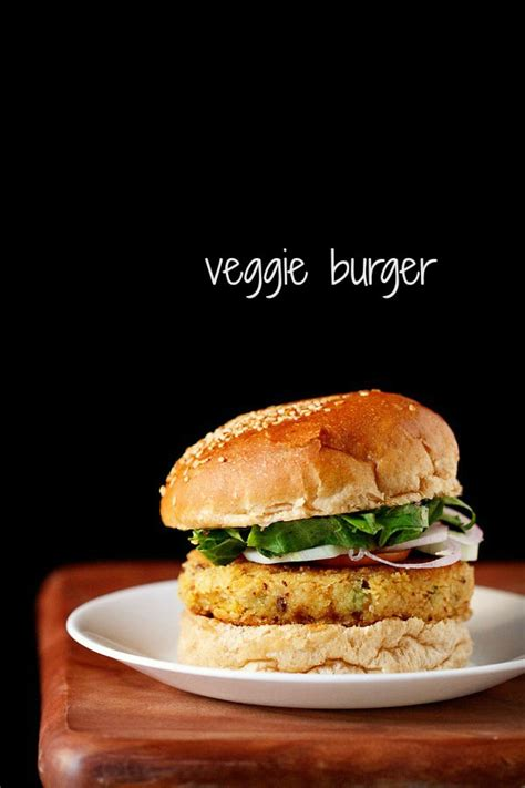 veg burger recipe how to make veggie burger recipe vegetable burger