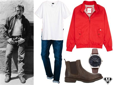Steal The Look : James Dean   Mode Man   Le Style Geek
