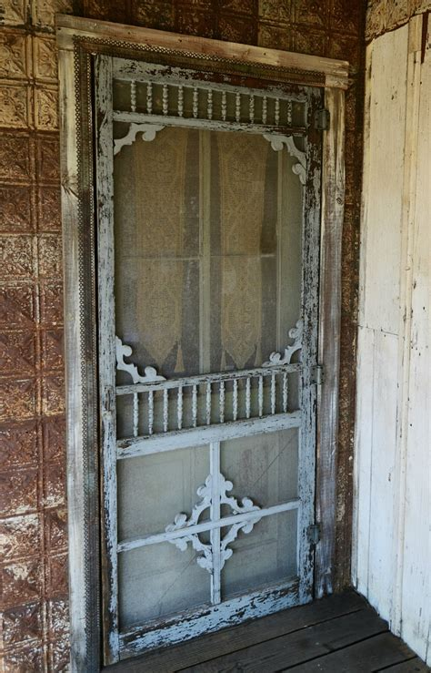 Vintage Screen Doors For Sale by Magnolia Pearl On Ranch Exterior And