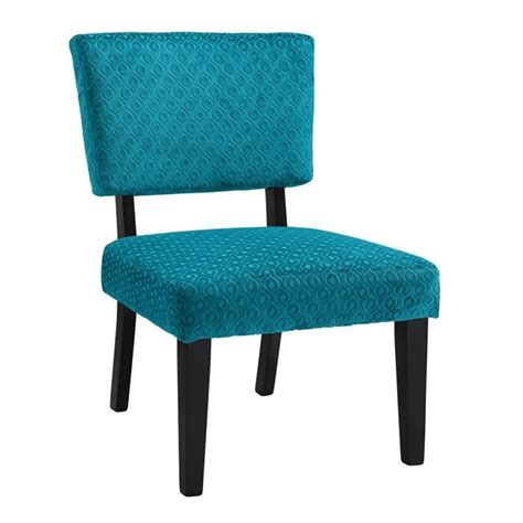 Teal Side Chair Accent Chair In Teal Blue 36080teal01u