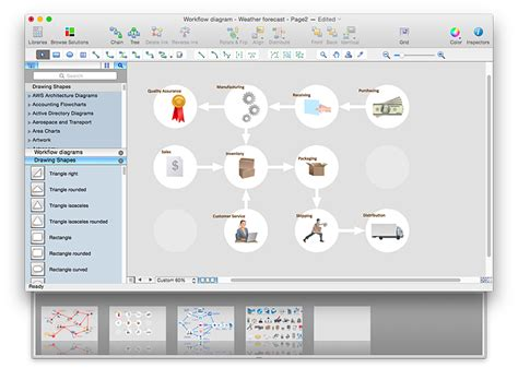 workflow pro convert a workflow diagram to adobe pdf conceptdraw helpdesk