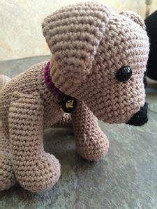 crochet labrador      toy dog