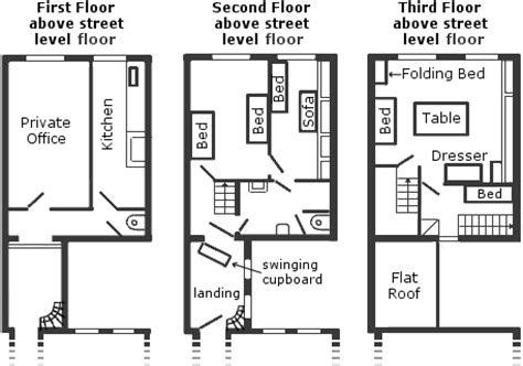 frank secret annex floor plan the frank story the secret annexe