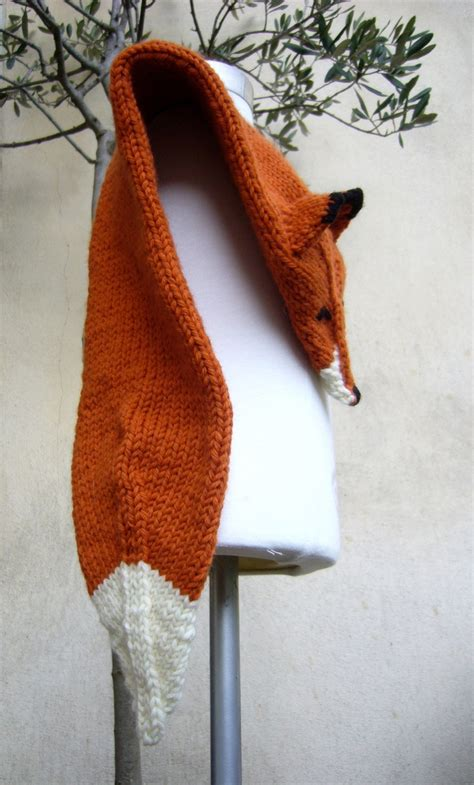 Fox Scarf best 25 fox scarf ideas on scarf crochet