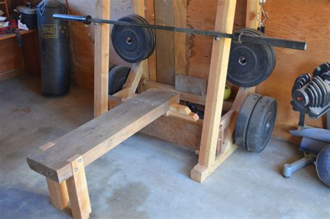 how to make a homemade weight bench image gallery homemade bench press