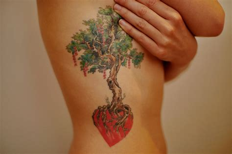 heart tree tattoo 15 stunning tree tattoos you ll these