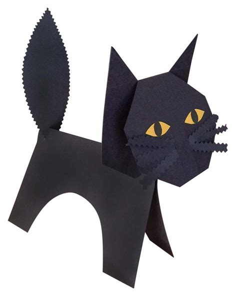 Black Cat Papercraft - 17 best images about ideas on