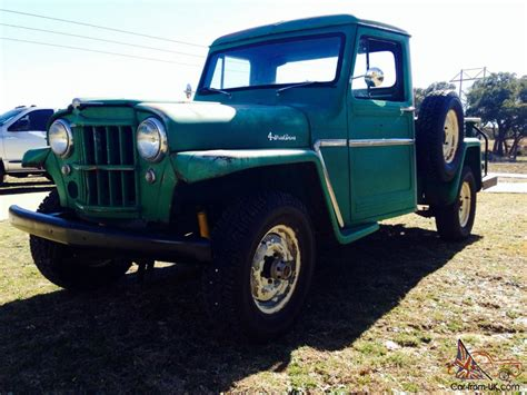 Jeep Truck 1960 1960 Jeep Willy 4wd