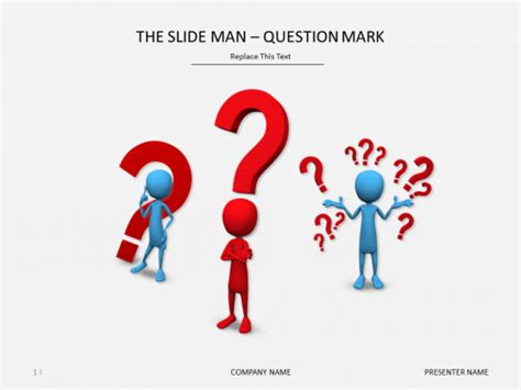 free powerpoint templates question mark image collections