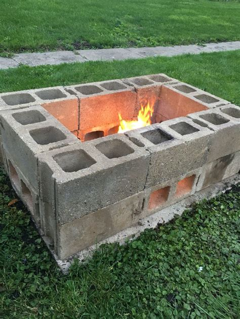Cinder Block Pit Inexpensive And Attractive Ideas 7 Awesome Cinder Block Pit Ideas Bestoutdoorfirepits