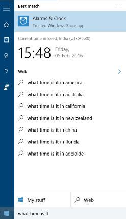 cortana tells wrong time solved page 2 windows 10 forums