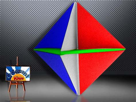 Origami Spinner - basic origami modular spinner